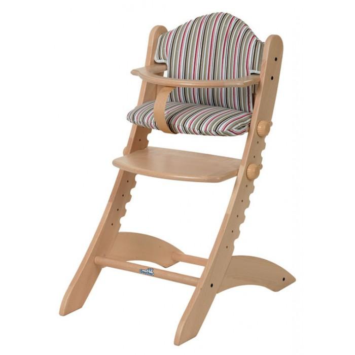 Стульчик для кормления Geuther SwingSwingБлагодаря отдельно предлагаемой панели для еды и игры стульчик Swing полностью независим от стола, его можно поставить в любом месте комнаты. Cвоим дизайном стульчик оживит любой интерьер.   детский стульчик Swing предназначен не только для кормления ребенка, но и для времяпрепровождения и игр  может использоваться взрослыми, когда ребенок вырастет  стульчик обладает отличной устойчивостью и эргономически подходит для спинки ребенка, формируя правильную осанку  изготовлен из экологически чистого материала массива бука  покрашен краской на водной основе, что делает его безопасным для ребенка  стульчик легко моется и может дополнительно комплектоваться удобной мягкой вставкой для малышей<br>