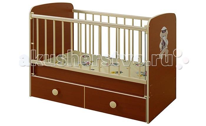 Детская кроватка Glamvers Magic Plus (поперечный маятник)