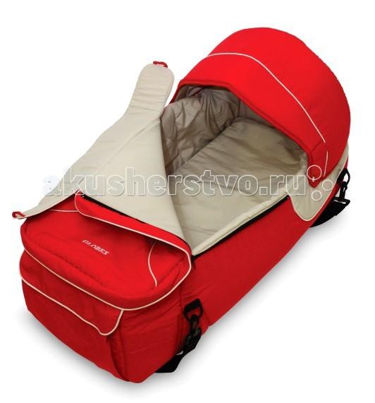 Сумка-переноска Globex люлька Коконлюлька КоконЛюлька Globex Кокон предназначена для переноски детей весом до 7,7 кг.  Особенности:  люлька устанавливается в любые модели колясок для новорожденных очень практичная для мамы и удобная для младенца защищает ребенка от ветра и холода люлька оснащена ручками и плечевым ремнем для переноски капор отстегивается благодаря жесткой основе предназначена для новорожденных детей..  Советы по эксплуатации:  Не переносите в люльке детей весом более 7,7 кг. Регулярно осматривайте донышко люльки и не используйте люльки с деформированным или треснувшим донышком. Стирайте люльку вручную при температуре до 40С, но предварительно извлеките донышко люльки. Размеры: 67 х 30 х 30 (см).  Вес: 1,3 кг.<br>