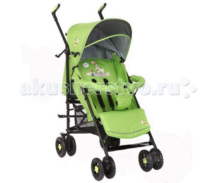 Коляска-трость Glory 11091109Практичная и легкая детская коляска-трость для детей от полугода до 3 лет (максимальный вес - 18кг).  Характеристики: солнцезащитный козырек; съемный бампер-перекладина; легкая в управлении, маневренная и устойчивая; сдвоенные колеса, передние – поворотные с функцией блокировки; наклонная спинка (5 положений); высота подножки регулируется; 5-точечные ремни безопасности; облегченная рама из прочного материала (алюминий); складывается по типу трости даже при помощи одной руки; детская коляска в сложенном виде компактна, что удобно для транспортировки; имеется ручка для переноски; сетка для покупок.  Габариты: Размеры в разложенном виде 50х85х90 см Ширина колесной базы 50 см Длина спального места 70 см Ширина прогулочного сиденья 33 см<br>