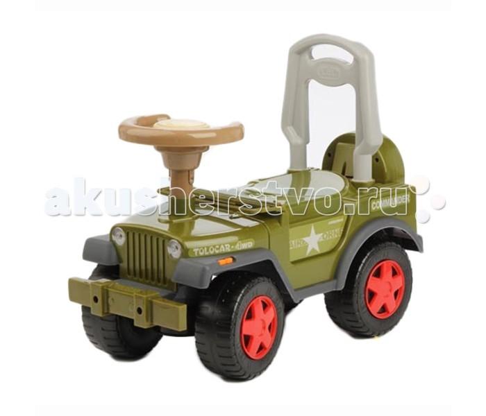 """Каталка Glory Tolocar LBL 608-MCTolocar LBL 608-MCСтильная музыкальная машинка для детей от 2 до 5 лет. На каталке можно ездить верхом, отталкиваясь ногами от пола.   Характеристики:  - Поворот передних колес управляется рулем - Широкие, устойчивые колеса поворачиваются на 90 градусов - Машинка движется вперед и назад - Сзади высокая спинка, за которую малыш может держаться при ходьбе - Стильная декоративная """"запаска"""" - Большие, прочные колёса - Звуковое сопровождение - Изготовлена из качественных, нетоксичных и безопасных материалов  Батарея: AA(1.5Vx3) Материал: пластмасса Размеры: 53,х25х46 см Нагрузка: до 27 кг Вес: 2.5 кг<br>"""
