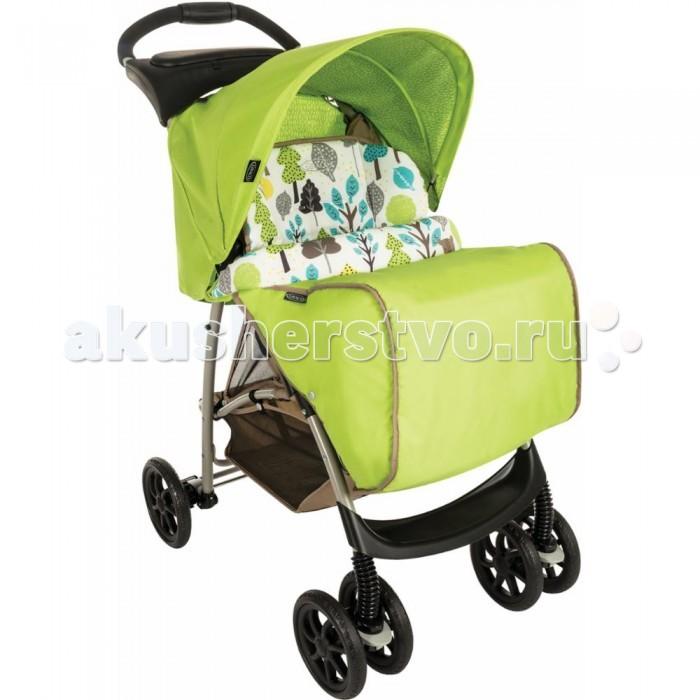 Прогулочная коляска Graco MirageMirageПрогулочная коляска Graco Mirage со столешницей и накидкой для ножек комфортная для малыша и удобная в управлении для мамы. Легкая и маневренная прогулочная коляска Graco Mirage проста в обращении, компактно складывается для транспортировки и хранения.  Комфорт и уют для малыша: простота маневрирования в ограниченном пространстве и узких проходах, благодаря передним поворотным колесам широкое регулируемое сидение с мягкими комфортными накладками 3 положения спинки обеспечивают малышу комфорт, когда он спит или сидит в сложенном состоянии стоит без опоры поднос для игр, также служит ограждением большая легкодоступная корзина комфортабельная подушка сиденья  автоматический замок фиксирует коляску в сложенном положении, упрощая ее транспортировку  сиденье снимается и стирается  во время прогулки мама имеет возможность наблюдать за ребёнком через солнцезащитное, затемнённое окошко, расположенное в верхней части капюшона  эргономичная ручка  Надежность:  высококачественная прочная рама гарантирует комфорт и безопасность вашего малыша стальная рама  капюшон с верхним окошком для возможности наблюдения за малышом и хорошая защита от солнца (ткань прошла испытания на устойчивость к УФ-лучам 5-точечный ремень для надежного крепления ребенка  простая и практичная моментальная система складывания, позволяет вам сложить коляску одной рукой, удерживая ребенка  Колеса: передние поворотные, с фиксаторами в переднем направлении задний ножной тормоз  поворотность колёс даёт возможность легко и плавно повернуть коляску в нужном направлении   В комплекте: в верхней части коляски расположен столик для мамы  накидка на ноги<br>