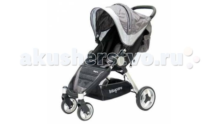 Прогулочная коляска Baby Care Variant 4Variant 4Baby Care Variant 4 - прогулочная коляска на облегченной раме. Очень удобная модель как для малыша, так и для родителей.   Спинка механически раскладывается до 170 градусов. Есть три положения фиксации. Подножку также можно настраивать по высоте. С ее помощью получается просторное спальное место оптимальной длины. Большой капюшон опускается до бампера.    На ручке имеется приятная кожаная накладка, которую можно при желании отстегнуть. Посадочное место оснащено 5-точечными ремнями безопасности. Коляска компактно складывается книжкой и устойчива в сложенном положении.  Особенности: облегченная рама; три положения наклона спинки; 5-точечные ремни безопасности; регулируемая по высоте подножка; передние колеса с фиксацией; сетчатая корзинка для вещей; капюшон опускается до бампера; коляска компактно складывается книжкой.  Комплектация: чехол на ножки.  Характеристики: Диаметр колес: передние - 15 см, задние - 23 см. Размеры коляски 73х56х98см. Размер сидения: 24х31см. Высота сидения от пола - 40 см. Длина спинки - 46 см. Вес коляски - 8.23 кг. Вес упаковки - 9.53 кг.<br>