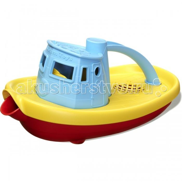 Green Toys Игрушка для купания БуксирИгрушка для купания БуксирGreen Toys Игрушка для купания Буксир создан специально для малышей.  Особенности: Буксир имеет широкий носик, чтобы черпать и заливать воду.  Подходит для игры в ванной или на улице.  У пластика, из которого сделана игрушка, приятная, немного шершавая на ощупь поверхность. Все игрушки Green Toys производятся только в США, в Калифорнии, на фабриках, принадлежащих компании.  Компания выпускает свои игрушки только из переработанных материалов.  Все игрушки сделаны из переработанного пластика, а упаковочные картонные коробки, сделаны из переработанной бумаги.<br>