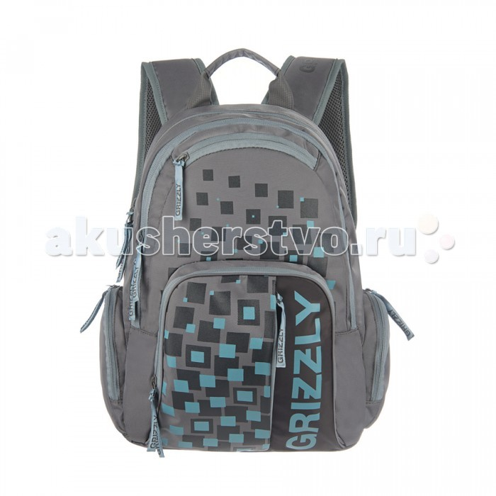Grizzly Рюкзак RU-510-1Рюкзак RU-510-1Grizzly Рюкзак RU-510-1 выполнен из очень легкой, эластичной ткани высокой прочности. Она устойчива к износу, хорошо стирается и быстро сохнет, сохраняя свою форму.  Особенности: два отделения,  объемный карман на молнии на передней стенке,  объемные боковые карманы на молнии,  внутренний карман на молнии,  внутренний карман-пенал для карандашей,  жесткая анатомическая спинка,  карман быстрого доступа в верхней части рюкзака,  карман быстрого доступа в передней части рюкзака,  дополнительная ручка-петля,  укрепленные лямки  Размеры: 31х42х22 см<br>
