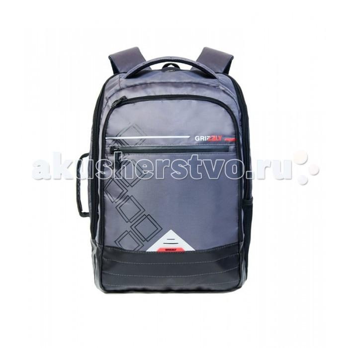 Grizzly Рюкзак RU-616-1Рюкзак RU-616-1Grizzly Рюкзак RU-616-1 выполнен из очень легкой, эластичной ткани высокой прочности. Она устойчива к износу, хорошо стирается и быстро сохнет, сохраняя свою форму.  Особенности: рюкзак молодежный два отделения карман на молнии на передней стенке боковой карман  внутренний карман внутренний карман на молнии внутренний составной пенал-органайзер внутренний укрепленный карман для ноутбука укрепленная спинка карман для аудиоплеера  мягкая укрепленная ручка дополнительная ручка-петля дополнительная укрепленная ручка нагрудная стяжка-фиксатор укрепленные лямки брелок для ключей.<br>