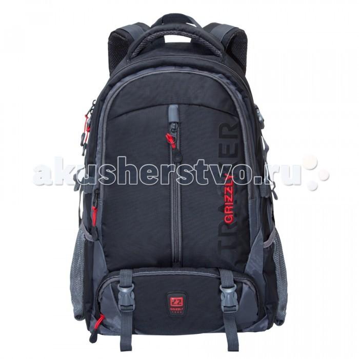 Grizzly Рюкзак RU-617-2Рюкзак RU-617-2Grizzly Рюкзак RU-617-2 выполнен из очень легкой, эластичной ткани высокой прочности. Она устойчива к износу, хорошо стирается и быстро сохнет, сохраняя свою форму.  Особенности: рюкзак молодежный два отделения карман на молнии на передней стенке объемный карман на молнии на передней стенке боковые карманы из сетки боковые стяжки-фиксаторы внутренний карман для ноутбука жесткая анатомическая спинка  дополнительная ручка-петля мягкая укрепленная ручка нагрудная стяжка-фиксатор укрепленные лямки.<br>