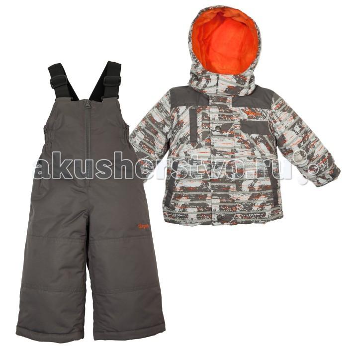 Gusti Zingaro Комплект одежды ZWB 4906Zingaro Комплект одежды ZWB 4906Зимний костюм Gusti состоит из куртки и полукомбинезона. В нем ребенку тепло и удобно независимо от того, какая температура на улице. Такая верхняя одежда – идеальный вариант для суровой зимы с сильными морозами.  Куртка:  Ткань верха taslan 2000мм  Наполнитель тек-полифилл плотностью 230 гр/м (8 унций)  Подклад флис на груди и спинке  Снегозащитная юбка  Регулируемый рукав  Молнии и фурнитура YKK  Капюшон отстегивается  Брюки:  Ткань верха taslan 2000мм + Cordura Oxford сзади, на коленях, и по низу брючин  Наполнитель тек-полифилл плотностью 170 гр/м (6 унций)  Регулируемые лямки полукомбинезона.  Снегозащитные гетры.  Молнии и фурнитура YKK<br>