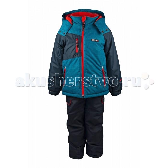 Gusti Boutique Комплект одежды GWB 3039Boutique Комплект одежды GWB 3039Зимний костюм Gusti состоит из куртки и полукомбинезона. В нем ребенку тепло и удобно независимо от того, какая температура на улице. Такая верхняя одежда – идеальный вариант для суровой зимы с сильными морозами.  Куртка:  Ткань верха shuss 5000мм  Наполнитель тек-полифилл плотностью 283 гр/м (10 унций)  Подклад флис на груди и спинке  Снегозащитная юбка  Трикотажные манжеты в рукавах, 2 внутренних кармана  Молнии и фурнитура YKK  Светоотражающие элементы 3М Scotchlite  Капюшон отстегивается  Брюки:  Ткань верха taslan 5000мм + Cordura Oxford сзади, на коленях, и по низу брючин  Наполнитель тек-полифилл плотностью 170 гр/м (6 унций)  Регулируемые лямки полукомбинезона. Высокая грудка до размера 6х/120см; в размерах 7-14 лет отстегивающаяся спинка, грудки нет  Снегозащитные гетры. Регулируемая длина (отворот с креплением на липе)  Молнии и фурнитура YKK  Светоотражающие элементы 3М Scotchlite<br>