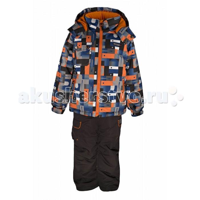 Gusti Boutique Комплект одежды GWB 3042Boutique Комплект одежды GWB 3042Зимний костюм Gusti состоит из куртки и полукомбинезона. В нем ребенку тепло и удобно независимо от того, какая температура на улице. Такая верхняя одежда – идеальный вариант для суровой зимы с сильными морозами.  Куртка:  Ткань верха shuss 5000мм  Наполнитель тек-полифилл плотностью 283 гр/м (10 унций)  Подклад флис на груди и спинке  Снегозащитная юбка  Трикотажные манжеты в рукавах, 2 внутренних кармана  Молнии и фурнитура YKK  Светоотражающие элементы 3М Scotchlite  Капюшон отстегивается  Брюки:  Ткань верха taslan 5000мм + Cordura Oxford сзади, на коленях, и по низу брючин  Наполнитель тек-полифилл плотностью 170 гр/м (6 унций)  Регулируемые лямки полукомбинезона. Высокая грудка до размера 6х/120см; в размерах 7-14 лет отстегивающаяся спинка, грудки нет  Снегозащитные гетры. Регулируемая длина (отворот с креплением на липе)  Молнии и фурнитура YKK  Светоотражающие элементы 3М Scotchlite<br>
