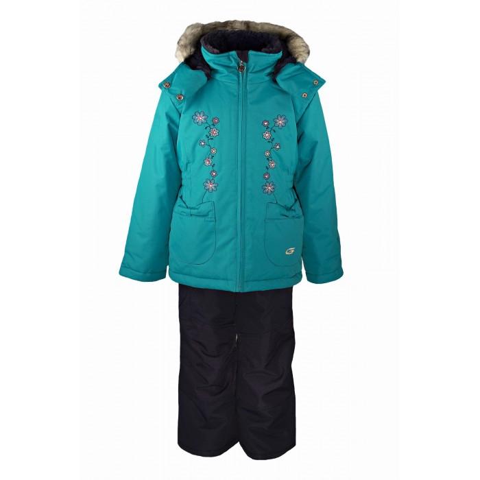 Gusti Boutique Комплект одежды GWG 3012Boutique Комплект одежды GWG 3012Зимний костюм Gusti состоит из куртки и полукомбинезона. В нем ребенку тепло и удобно независимо от того, какая температура на улице. Такая верхняя одежда – идеальный вариант для суровой зимы с сильными морозами.  Куртка:  Ткань верха shuss 5000мм  Наполнитель тек-полифилл плотностью 283 гр/м (10 унций)  Подклад флис на груди и спинке  Снегозащитная юбка  Трикотажные манжеты в рукавах, 2 внутренних кармана  Молнии и фурнитура YKK  Светоотражающие элементы 3М Scotchlite  Капюшон отстегивается, мех не отстегивается   Брюки:  Ткань верха taslan 5000мм + Cordura Oxford сзади, на коленях, и по низу брючин  Наполнитель тек-полифилл плотностью 170 гр/м (6 унций)  Регулируемые лямки полукомбинезона. Высокая грудка до размера 6х/120см; в размерах 7-14 лет отстегивающаяся спинка, грудки нет  Снегозащитные гетры. Регулируемая длина (отворот с креплением на липе)  Молнии и фурнитура YKK  Светоотражающие элементы 3М Scotchlite<br>