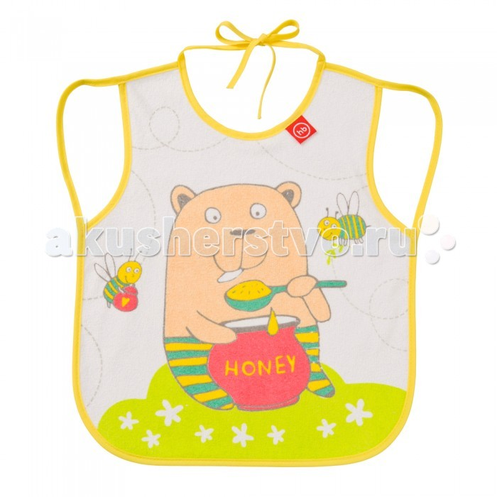 Нагрудник Happy Baby Baby Bib With Hangers