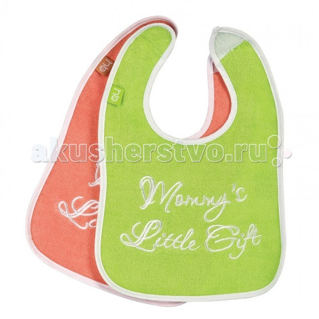 Нагрудник Happy Baby Children`s Bib X2