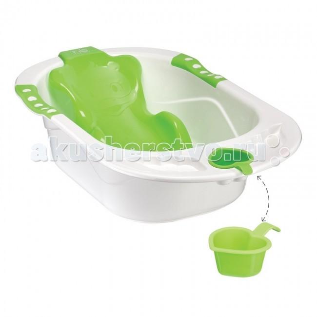 Happy Baby Детская ванна с анатомической горкой Bath Comfort