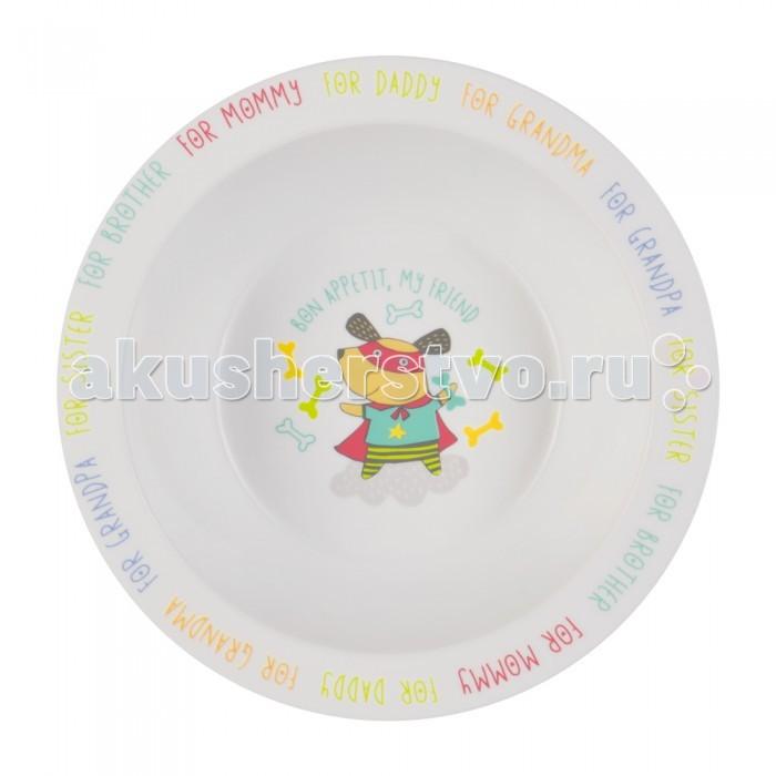 Happy Baby Глубокая тарелка для кормления с присоской Feeding Bowl