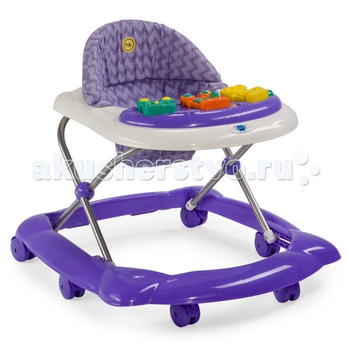 Ходунки Happy Baby Ходунки PioneerХодунки PioneerХодунки Pioneer помогут малышу стать настоящим первопроходцем, научат ребенка держать равновесие при ходьбе и подарят массу незабываемых эмоций от первых шагов и ярких, интересных игрушек. Сочетание ярких и оригинальных цветов привлекут к себе внимание ребенка.   Игровая панель с развивающими игрушками поможет крохе освоить хватательный рефлекс, развить мелкую моторику, зрение и слух.   Защиту малышу обеспечит широкая рама, а 6 пластиковых колесиков не повредят пол. Ходунки регулируются по высоте в 2 положениях. Мягкий чехол легко снять и постирать.  Для работы игровой панели требуется 2 батареек типа АА.  Характеристики:  Габариты в сложенном виде ДхШхВ: 67х58х30 см Габариты в разложенном виде ДхШхВ: 67х58х57 см Развивают координацию движений Учат ребенка держать равновесие Регулируются по высоте, 2 положения Пластиковые колеса, 6 шт Стопоры-ограничители движения ходунка, 2 шт Игровая панель со звуковыми и световыми эффектами: 3 мелодии Развивающие игрушки Для работы игровой панели необходимо 2 батарейки типа АА  Состав:  Каркас: пластик, металл Тканые материалы: 100 % полиэстер Колеса: пластик  Инструкция по использованию  Чистка пластиковых деталей осуществляется с помощью влажной тряпки. Металлические детали всегда протирайте насухо во избежание образования ржавчины. Тканевый чехол стирайте в машине в холодной воде, используя деликатный режим. Не используйте отбеливатель, сушите при низкой температуре. Храните игрушки вдали от источников тепла, огня и влаги.<br>