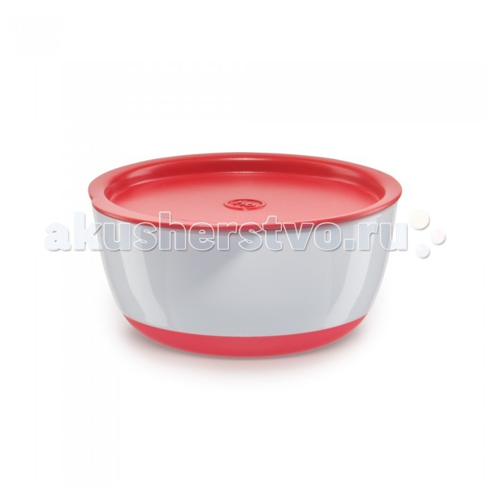 Happy Baby Набор тарелочек с крышкой Bowl Set