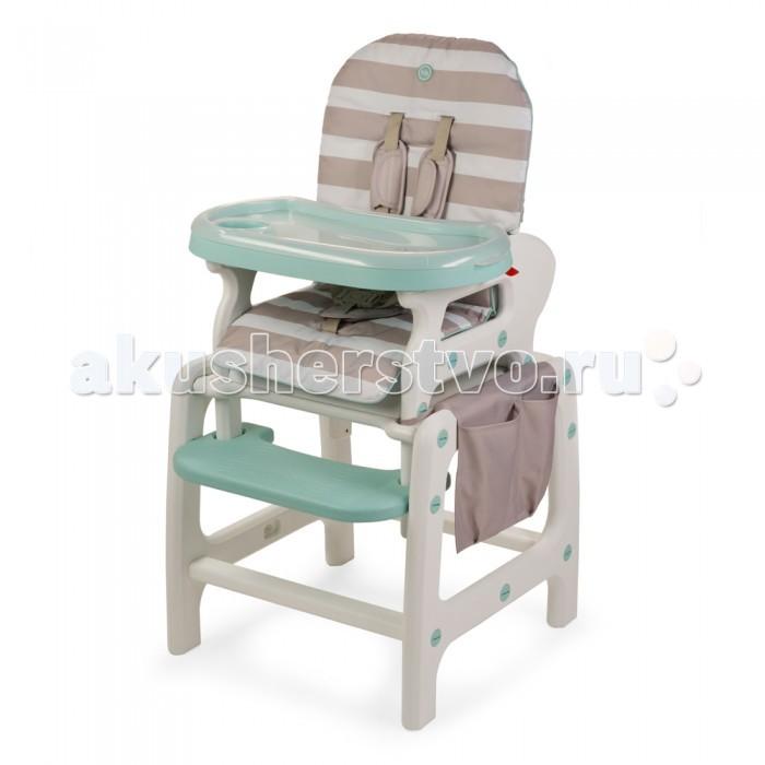 Стульчик для кормления Happy Baby Oliver V2Oliver V2Многофункциональный и практичный стульчик для кормления 3 в 1 Oliver V2. Уникальная особенность стульчика — в его трансформации. Благодаря инновационной конструкции, стульчик Oliver V2 может использоваться в 3-х положениях:  • для кормления малыша  • в качестве кресла-качалки  • как парта, за которой малыш будет учиться, рисовать и играть  Стульчик для кормления оснащен удобной подставкой для ножек и съемным подносом с подстаканником. Положение спинки легко регулируется в трех позициях. Верхнюю часть конструкции без лишних усилий можно снять, превратив стульчик в парту для любимых занятий.   Стульчик для кормления 3 в 1 Oliver V2 просто содержать в чистоте: гладкую пластиковую поверхность подноса легко мыть, чехол стульчика быстро снимается для стирки. В комплекте удобная накладка-карман для игрушек и прочих мелочей.   Пятиточечные ремни и отсутствие острых углов обеспечат безопасное использование стульчика. Мобильность, лёгкость и компактность этой модели сочетаются с отличной функциональностью.  В комплекте: карман для мелочей, дуги для качания  • Регулируемая спинка, 3 положения наклона • Съемная столешница регулируется по глубине в 6 положениях и имеет съемный поднос с подстаканником • Съемный чехол для сиденья • Подставка для ножек • Пятиточечные ремни безопасности регулируются по высоте • Стульчик трансформируется в стульчик-парту и кресло-качалку • Отсутствие острых углов  • Максимальный вес ребенка: 18 кг • Вес полного комплекта: 8 кг • Ширина сиденья: 35 см • Габариты в разложенном виде ДхШхВ: 67х58х103 см<br>