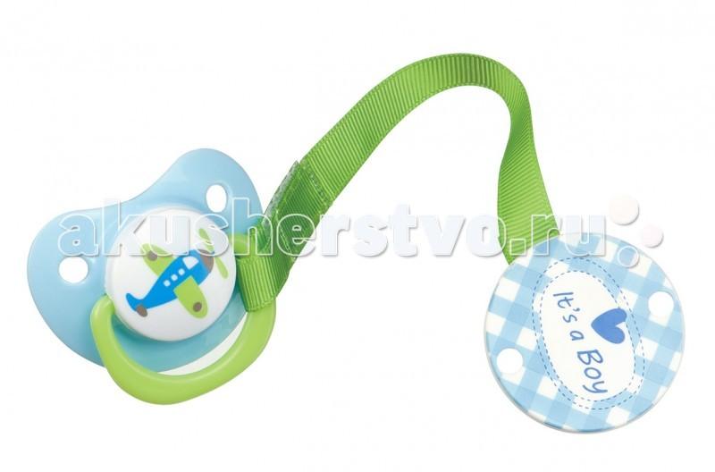 Пустышка Happy Baby с держателем Bimboс держателем BimboСиликоновая пустышка в форме капли повторяет форму нёба малыша и не мешает развитию его ротовой полости.   Благодаря надёжной клипсе-держателю вы можете быть уверены в том, что пустышка всегда будет чистой, а малыш не потеряет её.   Широкий захват клипсы позволяет легко прикрепить её к одежде.<br>