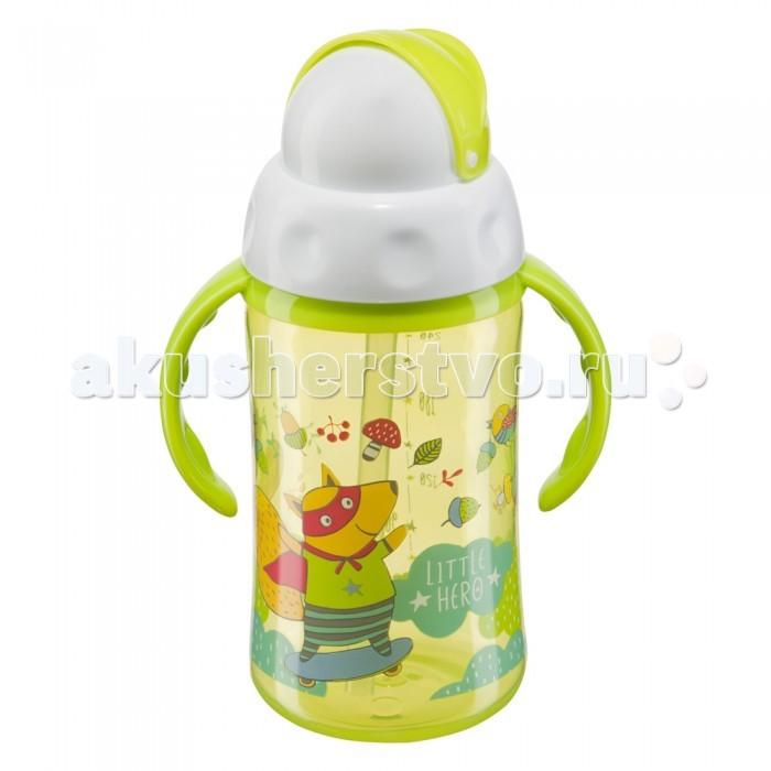Поильник Happy Baby с трубочкой и вращающейся крышкой Feeding Cup 240 мл