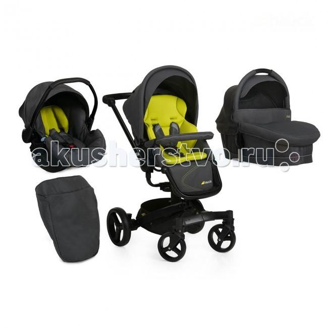Коляска Hauck Twister Trioset 3 в 1Twister Trioset 3 в 1Уникальная, современная коляска, обладающая редкой функцией, блоки на шасси могут поворачиваться вокруг своей оси, при этом они не снимаются с шасси, а просто поворачиваются, это очень удобно и практично, Вы имеете доступ к ребенку с любой стороны коляски, при этом, если ребенок заснул, Вы не потревожите его, и колеса коляски не меняют своего положения.  Люлька: удобная и комфортная эффектный дизайн  борта люльки теплые и высокие в комплекте матрасик со съемным чехлом внутренняя обивка из 100% хлопка капюшон оснащен дополнительным солнцезащитным козырьком для удобной переноски люльки есть ручка над капюшоном легко устанавливается и снимается с шасси  Прогулочный блок: большое удобное посадочное место поворот на 360° вокруг своей оси 3 положения наклона спинки - 115-160° 4 фиксированных положения подножки бампер безопасности - для удобства высадки и посадки ребенка, отстегивается, мягкий чехол на бампере, снимаемый при помощи молнии Большой капор от непогоды опускается до бампера, создавая при этом для ребенка надежную зону безопасности от осадков капор - съемный, с отстегивающимся, дополнительным, солнцезащитным козырьком в капоре окошко с сеткой мягкие накладки на пятиточечных ремнях безопасности  Автокресло детское Hauck Group Zero Plus Comfort 0+: соответствует Европейскому стандарту безопасности ECE R 44/04 предназначено для детей весом от 0 до 1 года (от 0 до 13 кг) эргономическая и комфортная прослойка повторяет контур головы съемный козырек от солнца 3-х точечные ремни безопасности с центральной регулировкой удобная эргономичная ручка для переноски легко устанавливается и снимается с шасси  Шасси: высокотехнологичный алюминий уникальная рама, поворачиваемая на шасси на 360° вместительная корзина для покупок легко и компактно складывается телескопическая регулируемая ручка подойдет для родителей любого роста большие задние колеса увеличивают проходимость в слякоть и снег передние колеса меньшего диаметра,