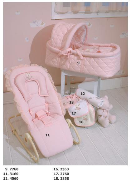 Детская комната HPA Pink Dreams - HPA Pink Dreams (шезлонг, переноска)