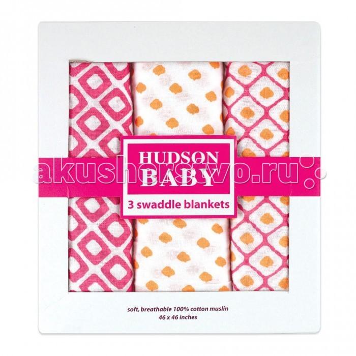 Пеленка Hudson Baby комплект Графические узоры 3 шт.комплект Графические узоры 3 шт.Hudson Baby Комплект пелёнок в коробке Графические узоры для новорождённых из трёх муслиновых пелёнок. Изготовлены из лёгкого и приятного на ощупь натурального хлопка. Пелёнки имеют большой размер, просты в использовании, многофункциональны.   Их можно использовать не только для пеленания, но и как лёгкие покрывальца для кроватки или коляски, как накидку для мамы и малыша во время грудного кормления и многих других целей. Красивая упаковка делает этот комплект прекрасным, ярким и незабываемым подарком!  Размер: 116х116 см Состав: 100% хлопок<br>
