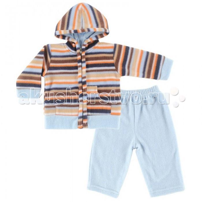 Hudson Baby Комплект Жакет с капюшоном и штанишки Полоски (2 предмета)