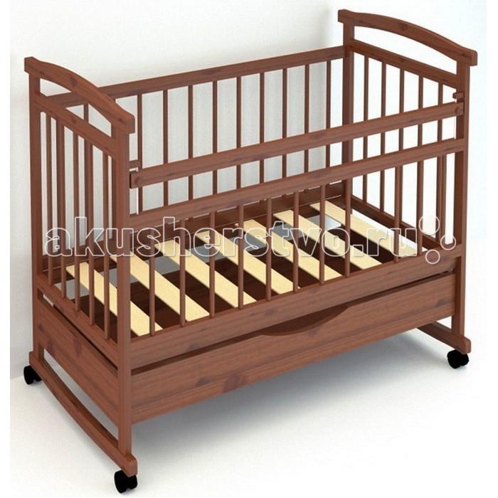 Детская кроватка Бэби Бум Аленка 1 (качалка)