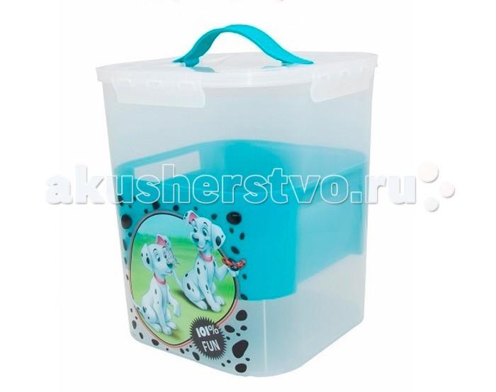Idea (М-Пластика) Контейнер для детских принадлежностей Дисней 10 л