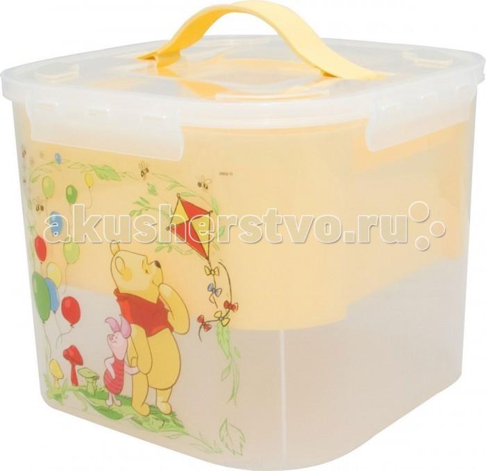 Idea (М-Пластика) Контейнер для детских принадлежностей Дисней 7 л