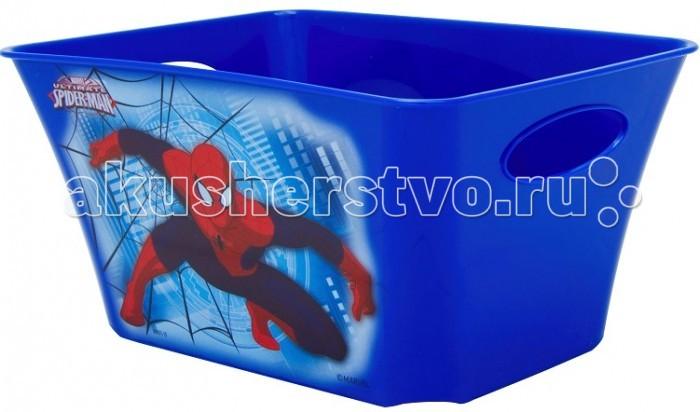 Idea (М-Пластика) Корзинка для игрушек Человек Паук 1.5 л