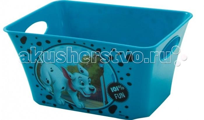 Idea (М-Пластика) Корзинка для игрушек Дисней 1.5 лКорзинка для игрушек Дисней 1.5 лIdea (М-Пластика) Корзинка для игрушек Дисней 1.5 л не оставит равнодушным ни одного ребенка.  Подходит для хранения мелочей.  Размеры: 18х13.4х9 см<br>