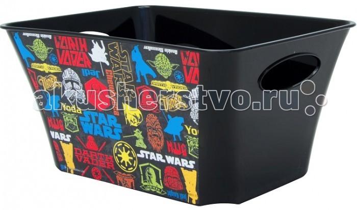 Idea (М-Пластика) Корзинка для игрушек Звёздные Войны 1.5 л