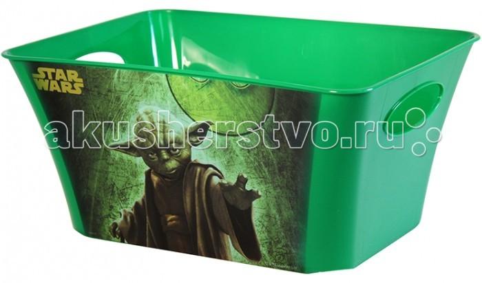 Idea (М-Пластика) Корзинка для игрушек Звёздные войны 5 л