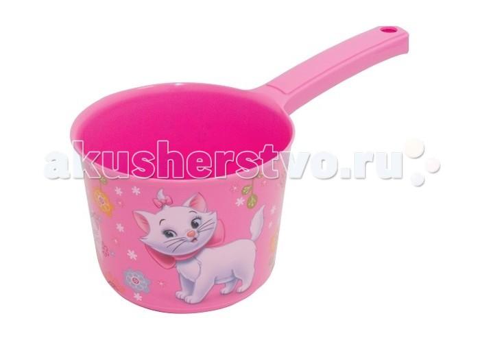 Idea (М-Пластика) Ковш Дисней 1,5 лКовш Дисней 1,5 лКовш Дисней 1,5 л предназначен для купания малыша в ванной.  Широкая ручка позволяет удобно держать ковш в руке, 1,5 л объем обеспечивает комфортный вес.  Красивые картинки по кругу интересно рассматривать.<br>
