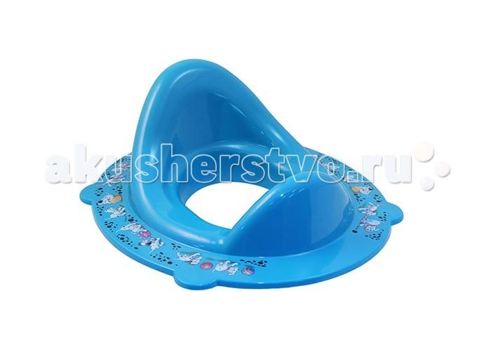 Idea (М-Пластика) Накладка на унитаз ДиснейНакладка на унитаз ДиснейНакладка на унитаз Дисней прекрасная помощница любой маме. Накладка на унитаз подходит для всех размеров унитазов благодаря универсальным креплениям.   Для безопасности накладка на унитаз оснащена противоскользящими резинками и ограничителем. Высокая спинка обеспечивает повышенный комфорт при сидении.<br>