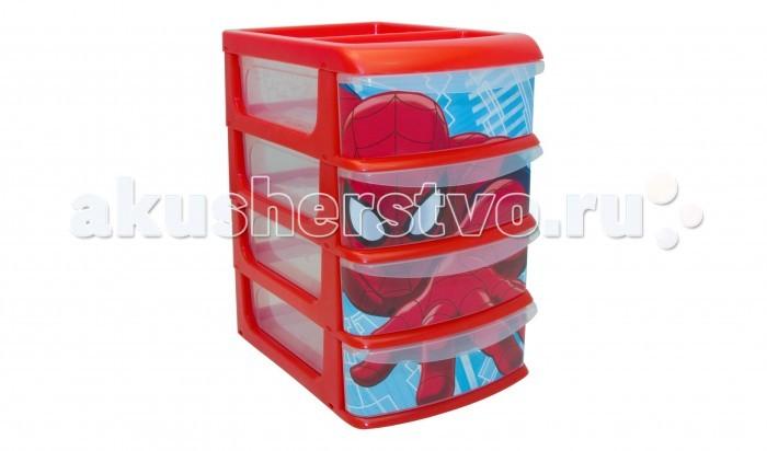 Idea (М-Пластика) ниверсальный пластиковый бокс Человек Паук с четырьмя секцияминиверсальный пластиковый бокс Человек Паук с четырьмя секциямиIdea (М-Пластика) Универсальный пластиковый бокс Человек Паук с четырьмя секциями - он выполнен из прочного пластика и очень вместителен.  Особенности: Бокс состоит из четырех вместительных ящиков, таким образом вы сможете сортировать предметы быта по их назначению.  Универсальный пластиковый бокс легко моется, вам не составит труда содержать его в порядке.   Размер: 20.5x14.5x23.5 см<br>