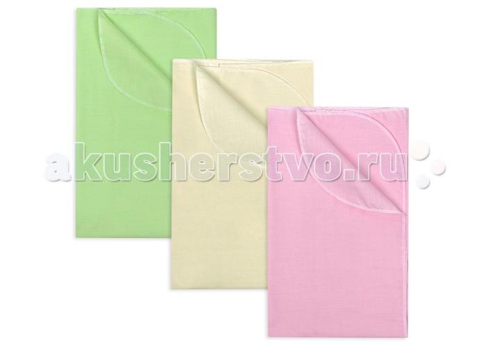 Пеленка Idea Kids Комплект бязь однотонная 3 шт. 120х75 см