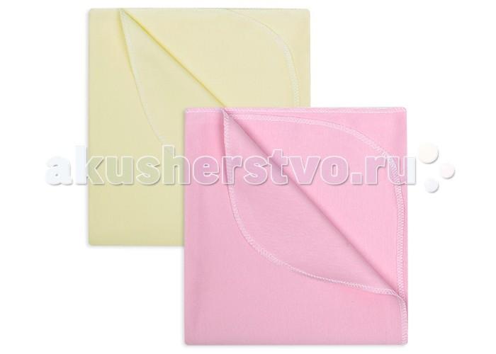 Пеленка Idea Kids Комплект интерлок однотонный 2 шт. 120х90 см