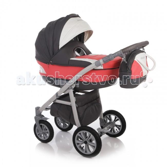 Коляска Ifratti Amadis 2 в 1Amadis 2 в 1Ifratti Amadis - новая, манёвренная и лёгкая  в управлении многофункциональная,  модульная коляска с  возможностью установки автомобильного кресла.   Современный дизайн выполнен в оригинальном стиле. В люльке и чехле, покрывающем люльку, смодулированы смотровые окна. Для  детей с рождения до трёх лет.  Переносная люлька для детей с рождения до 6 месяцев: Просторная пластиковая люлька (42/85 см) с регулируемым подголовником Люлька устанавливается в 2х направлениях лицом к маме, лицом к дороге Простая и удобная система крепления на раму Съемная подкладка из 100% хлопка, с возможностью стирки Капюшон складной, съемный с вентиляционным окошком Опускающийся козырёк для защиты от непогоды Бесшумная система складывания капора Кожаная ручка, для использования люльки в качестве переноски Размер спального места (ДхШхВ): 82 см х 39 см х 23 см   Прогулочный блок для детей от 6 месяцев до 3-х лет: Удобное, широкое посадочное место Полная регулировка спинки до положения лёжа Регулировка подножки по высоте Пятиточечные ремни безопасности с мягкими накладками, регулируемые по высоте Съёмный передний поручень с перемычкой между ножек Большой капор с солнцезащитным козырьком Чехол для ножек Размер спального места (ДхШ): 92 х 38 см   Рама: Новейшей конструкции алюминиевая рама Механизм компактного складывания по типу книжка Установка прогулочного блока возможна в двух направлениях Надувные съёмные колеса на подшипниках Передние поворотные на 360° колеса с механизмом блокировки Диаметр колес: задние 29 см, передние 24 см Усиленная, регулируемая пружинная амортизация Эргономичная ручка обтянута экокожей Регулировка ручки по высоте Надежный центральный тормоз Вместительная корзина для покупок Надежная конструкция   Комплектация: Люлька Прогулочный блок с капором Рама Сумка для мамы Москитная сетка и дождевик   Размеры коляски: 90 х 59 х 110 см. Вес коляски: 12 кг.<br>