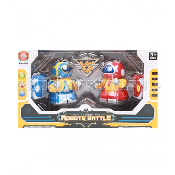 Интерактивная игрушка Игруша Роботы на радиоуправлении 2 шт.