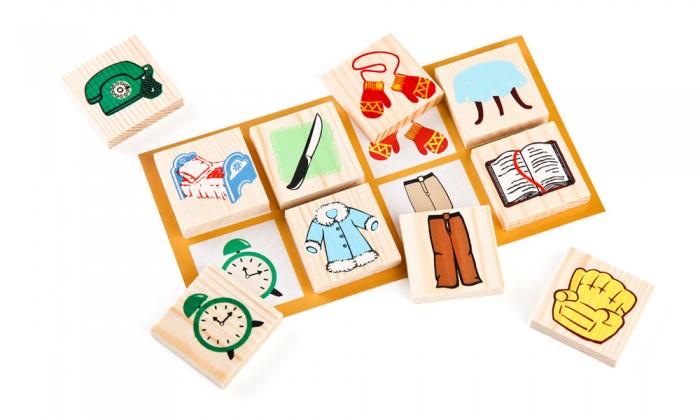 Деревянная игрушка Томик Лото Предметы 48 шт.Лото Предметы 48 шт.Детское Лото Предметы 48 шт.- развивающая игра, которая способствует развитию речи, внимания, навыков общения и партнерства, а также научит играть по правилам, выполнять инструкции и правильно воспринимать проигрыши и победы.  В набор лото Томик входит 6 карточек и 48 фишек, а в игре могут участвовать от 2 до 6 человек.<br>