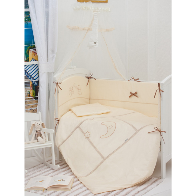 Бампер для кроватки Makkaroni Kids Волшебная сказка 120х60