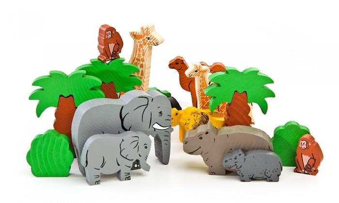 Деревянная игрушка Томик Конструктор Африка 40 деталейКонструктор Африка 40 деталейКонструктор Африка 40 деталей - набор для ролевой игры детей. Разнообразные элементы удобно помещаются в маленькой ручке ребёнка. Придумывая сюжеты для игр, ребёнок развивает воображение, связную речь, овладевает навыками ролевого поведения.<br>