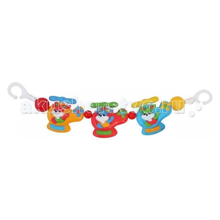 Baby Mix Погремушка на коляску Кролики в вертолете от Акушерство