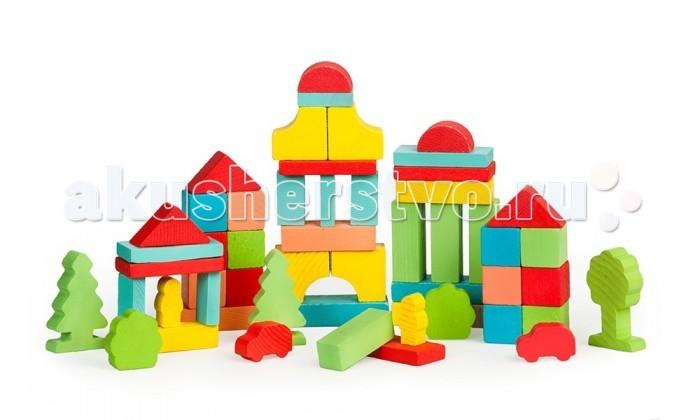 Деревянная игрушка Томик Конструктор Краски дня Утро 55 деталейКонструктор Краски дня Утро 55 деталейЯркий и красочный Конструктор Краски дня. Утро. 55 деталей состоит из кубиков, плит, треугольников, цилиндров разной длины. Ребенок сможет построить целый город, домики, башни, замки, пирамиды, мосты. Такая игра развивает пространственное мышление, фантазию, умение использовать форму предмета, моторику, координацию, приучает ребенка к усидчивости.  Конструктор Краски дня. Утро. 55 деталей также является удобным дидактическим материалом. Разноцветные детали помогают ребенку не только выучить названия цветов и геометрических фигур, но и понятия больше-меньше, выше-ниже, шире-уже.<br>