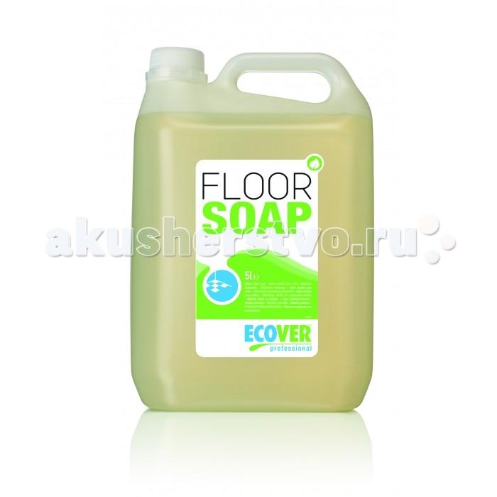 Ecover Floor Soap Моющее средство для пористых полов 5 лFloor Soap Моющее средство для пористых полов 5 лEcover Floor Soap Моющее средство для пористых полов экологическое.  Особенности: Экологическое моющее средство для пола для профессионального применения на основе мыла.  Специально разработано для глубокой очистки пористых полов, концентрат, разводится водой 1:200, низкое пенообразование позволяет применять в поломоечных машинах (до 1:200), образует защитную пленку.  Не содержит синтетических растворителей, активного хлора, галогенных составляющих, неорганических кислот, нефтесодержащих компонентов, в составе только составляющие растительного происхождения, все компоненты неминерального характера и полностью биоразлагаемы в соответствии с тестом OECD 301F<br>