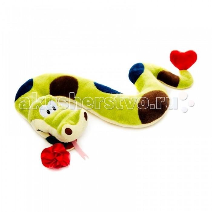 Мягкая игрушка Maxitoys Змей Вася с цветком 22 смЗмей Вася с цветком 22 смМягкая игрушка Maxitoys Змей Вася с цветком 22 см станет настоящим другом-игрушкой для вашего ребенка. Малыш сможет играть с волчонком, брать его вместе с собой спать в кровать.   Особенности: Компактную и легкую игрушку малыш всегда сможет брать с собой на прогулку. Крепкие швы надежно удерживают набивку игрушки внутри.  Такой очаровательный добродушный волчонок окажется хорошим подарком не только детям, но и взрослым.<br>