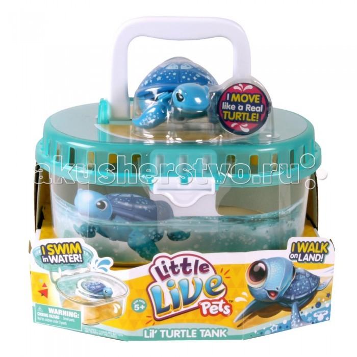 Интерактивная игрушка Little live Pets Черепашка в аквариуме от Акушерство